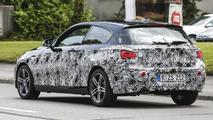 2015 BMW 1-Series facelift spy photo