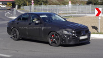 2014 Mercedes-Benz C55 AMG first spy photos emerge