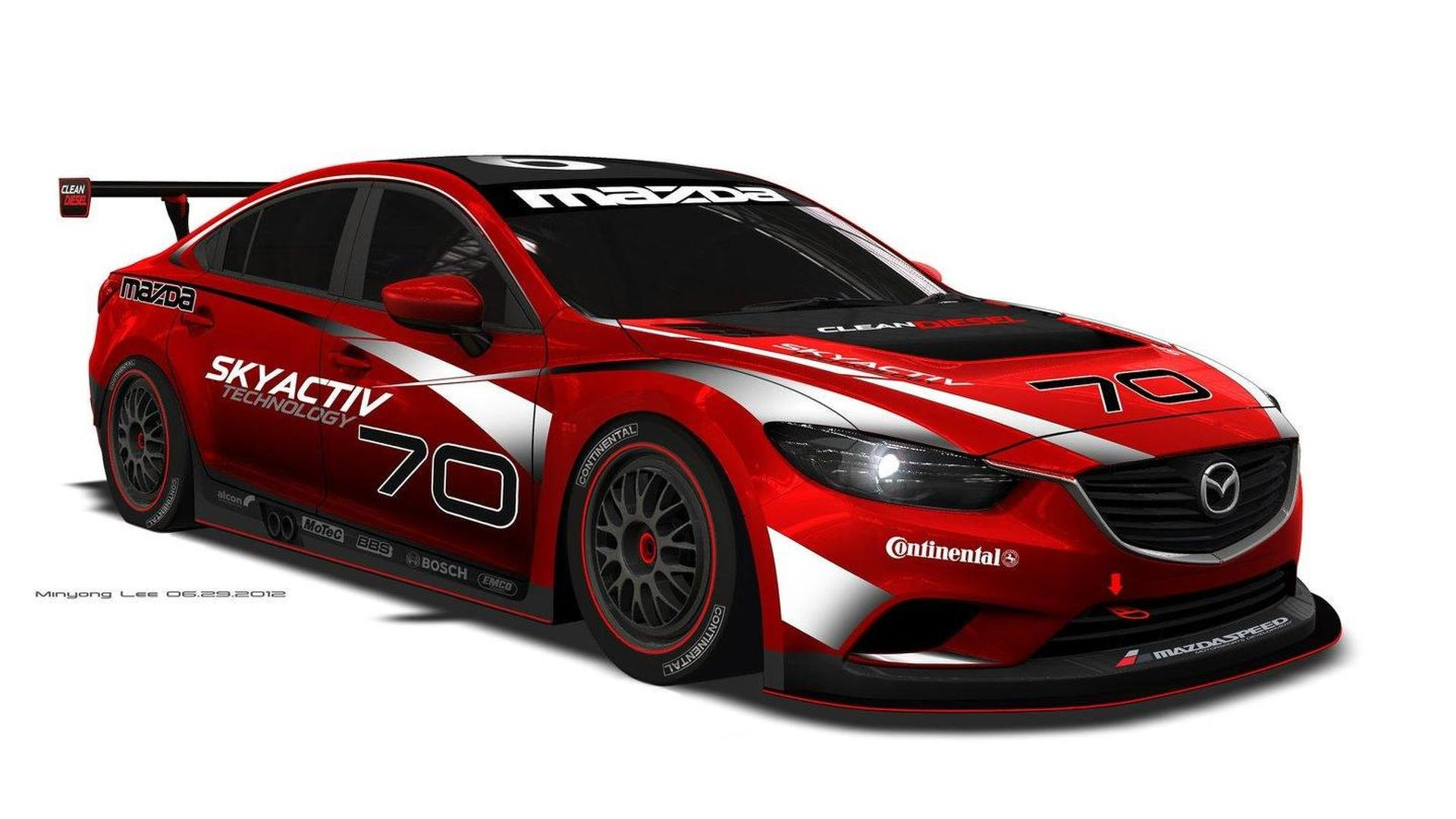 Mazda6 diesel confirmed for U.S. and new GRAND-AM GX endurance racer