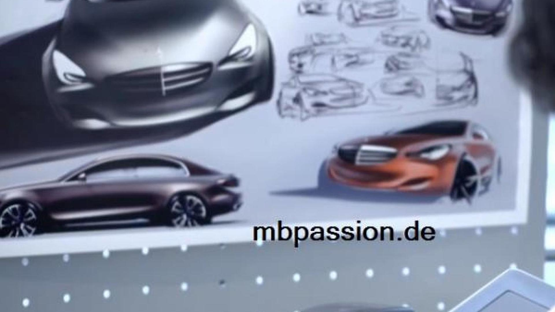 Mysterious Mercedes rendering surface online, is it the next-generation E-Class?