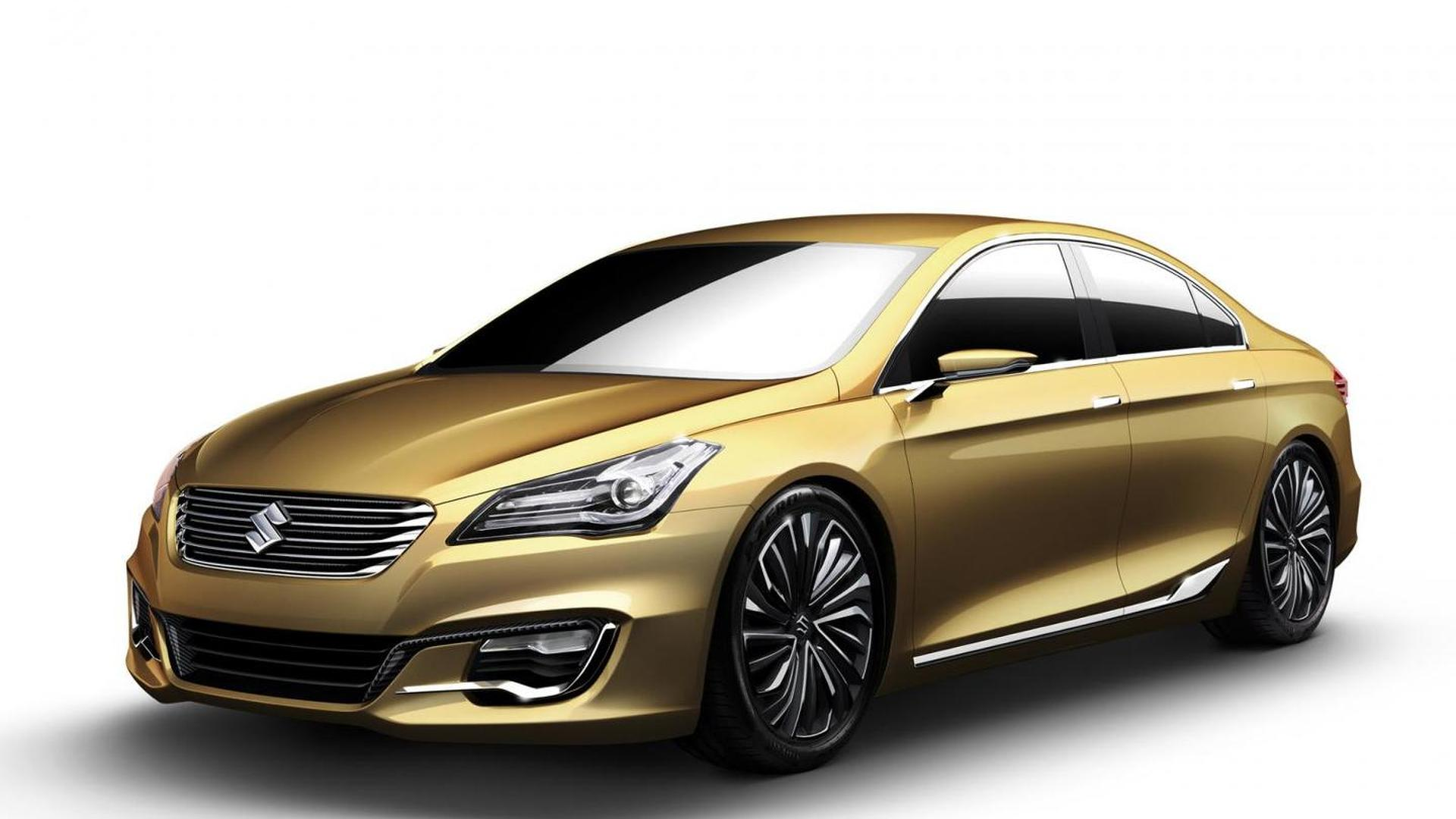 Suzuki brings Authentics Concept to 2013 Auto Shanghai [video]
