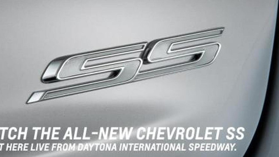 Chevrolet SS teased before tomorrow's launch