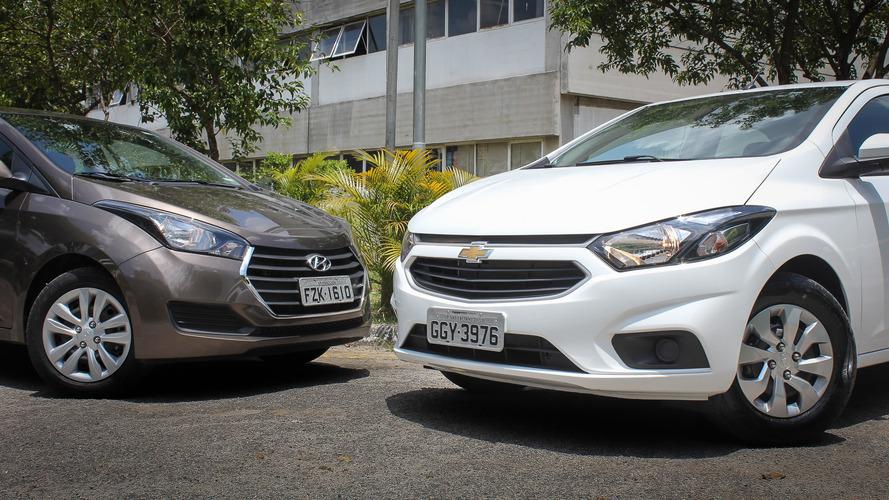 Saiba quanto custa o seguro dos 10 carros mais vendidos no Brasil