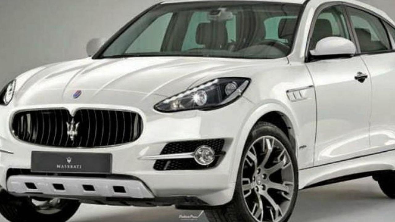 Maserati SUV concept leaked image? - 9.9.2011