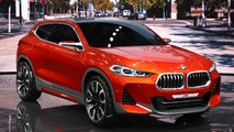 BMW X2 Concept Paris Motor Show