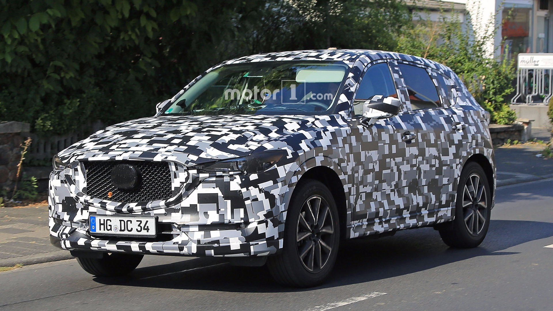 Refreshed 2018 Mazda Cx 5 Spied In Europe
