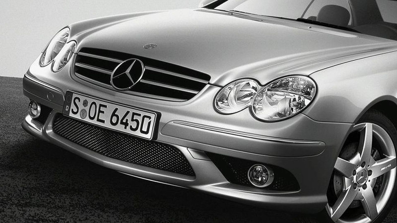 Mercedes-Benz CLK 500 with V8
