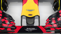 Red Bull Racing RB12 nose detail with Aston Martin logo