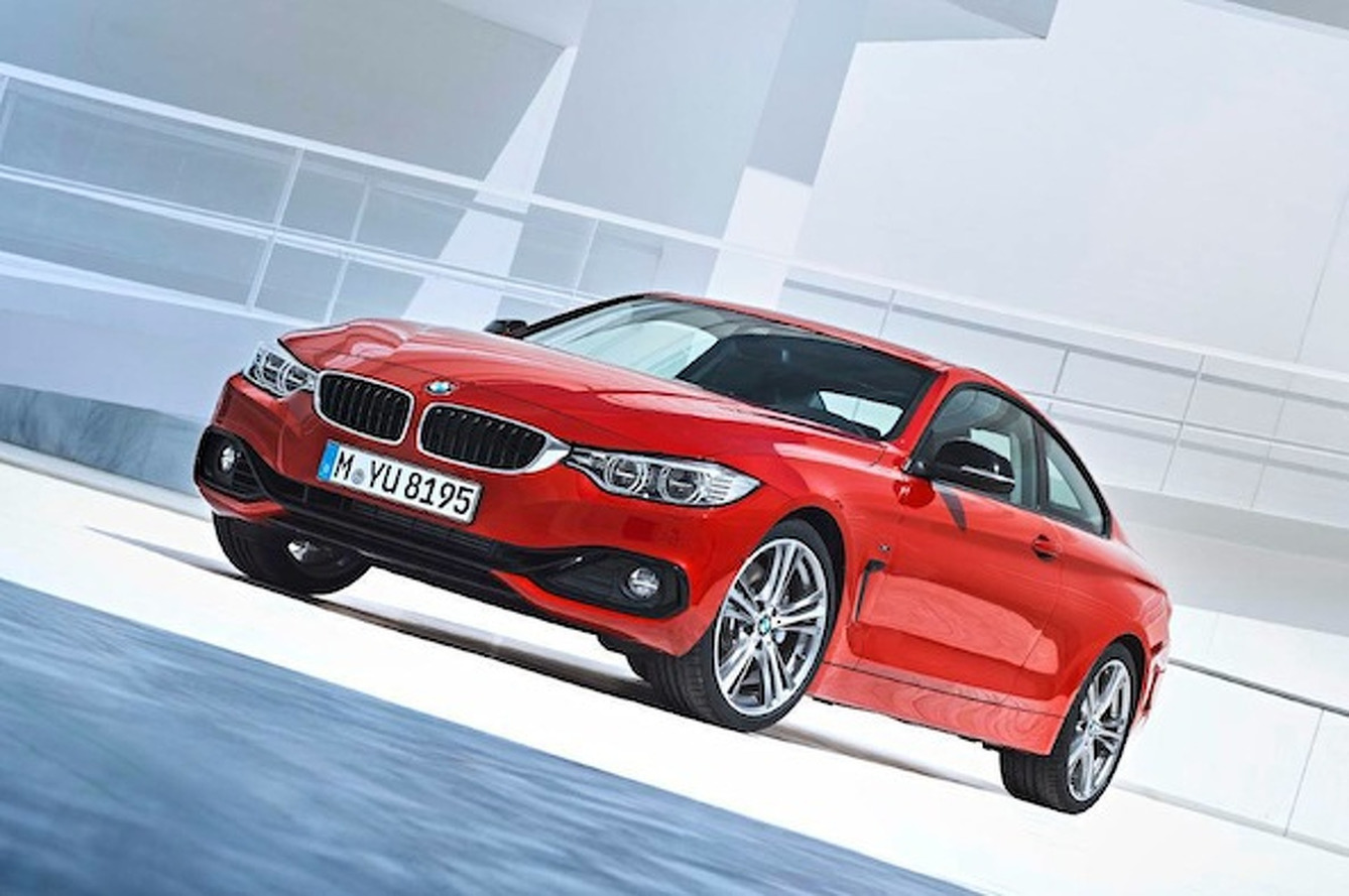 2014 BMW 4-Series Comes out to Play
