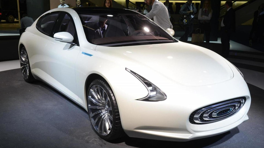 Thunder Power sedan concept unveiled, previews the 2017 production model
