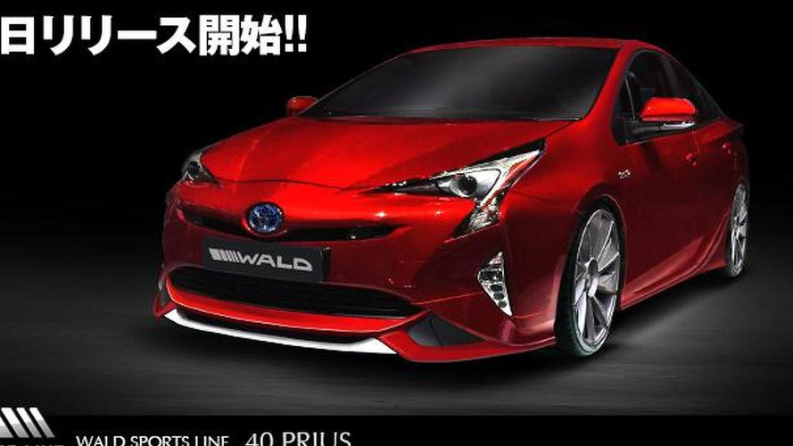 Wald previews their new styling program for the 2016 Toyota Prius