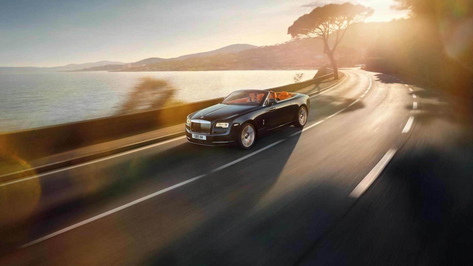 Rolls-Royce Dawn goes official