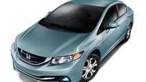 2014 Civic Hybrid & Civic Natural Gas unveiled, both go on sale later this month
