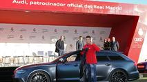 Christiano Ronaldo and Audi RS6 Avant