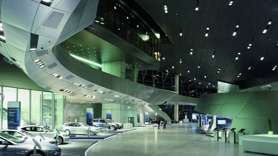 BMW Welt (World) Opens