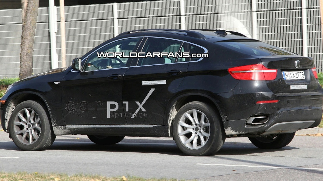 BMW X6 Active Hybrid Spy Photos