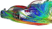 Hennessey Venom GT CFD (computational fluid dynamics) illustrations - 1052