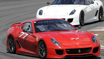 Ferrari 599XX on Nurburgring