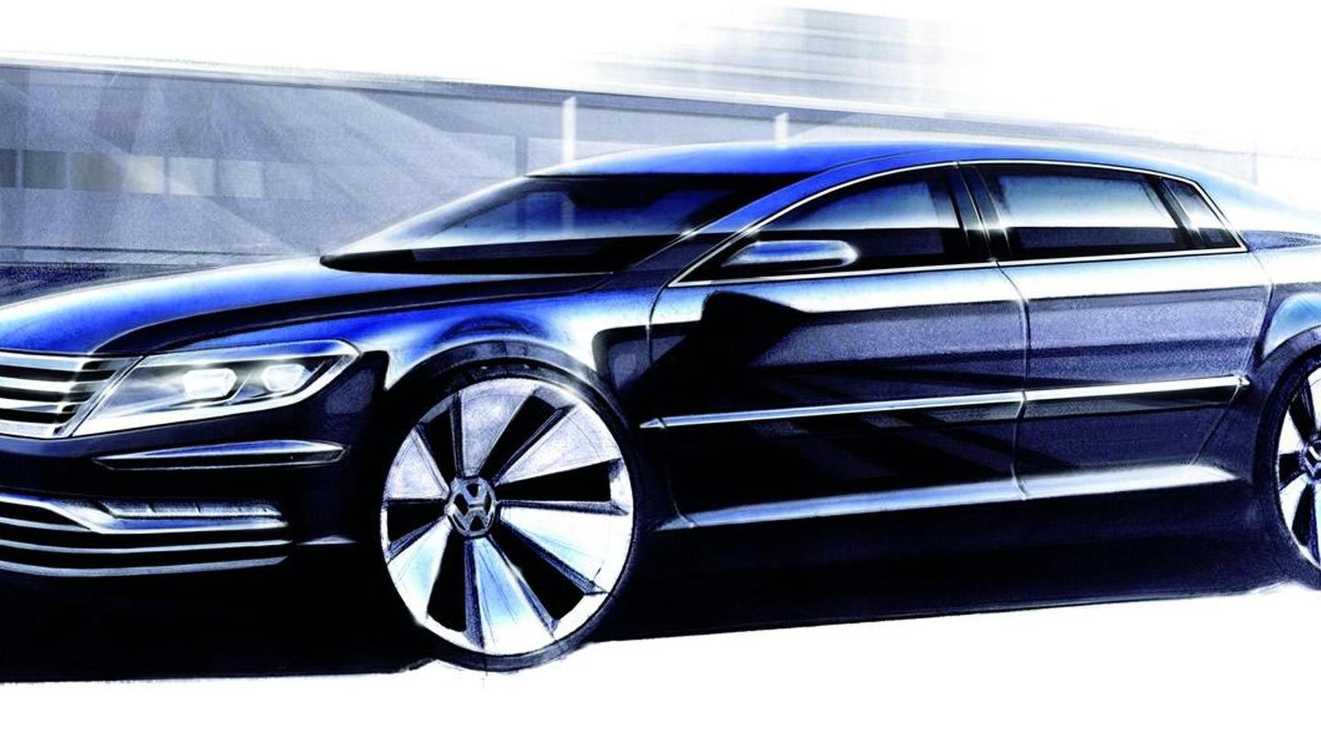 Next Volkswagen Phaeton to be positioned as a Chrysler 300 & Ford Taurus rival - report