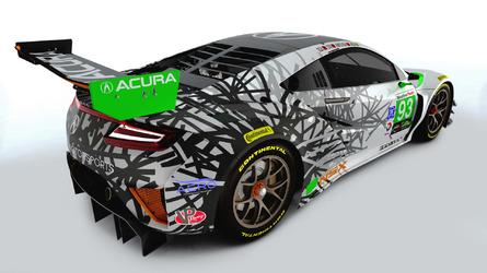 2017 Acura NSX IMSA liveries