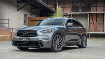 Infiniti QX70 tastefully restyled by AHG-Sports