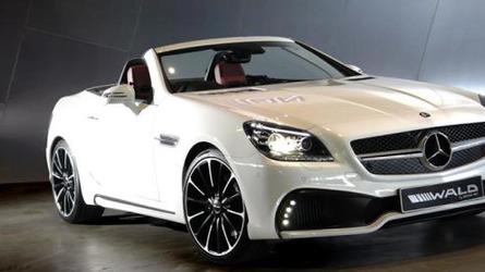 Mercedes SLK gets a new Black Bison package from Wald International