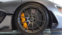 McLaren P1 with Flintgrau Metallic paint