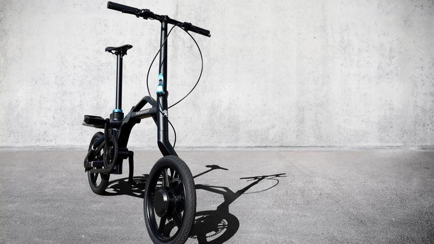 Peugeot eF01 electric folding bike revealed