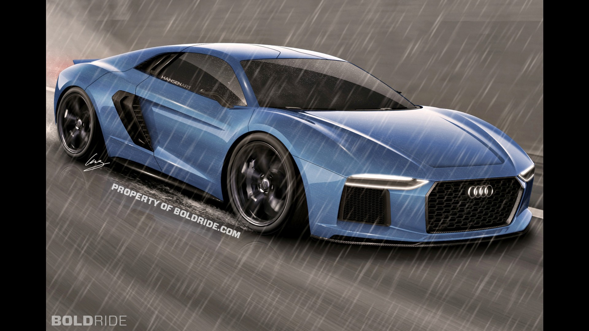 Audi R7 Audi R7 Rendering Audi R7 Concept Kar Youtube