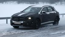 2014 Mercedes-Benz GLA spy photo 06.12.2012 / Automedia