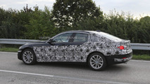 2014 BMW 4-series GranCoupe spied on video at Nurburgring