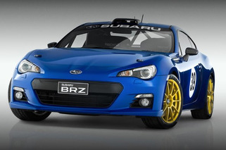 Subaru BRZ STI Portended in Pair of Concepts in Sydney