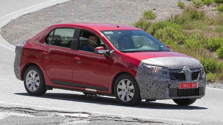 2017 Dacia Logan sedan, wagon spy shots could indicate new engine