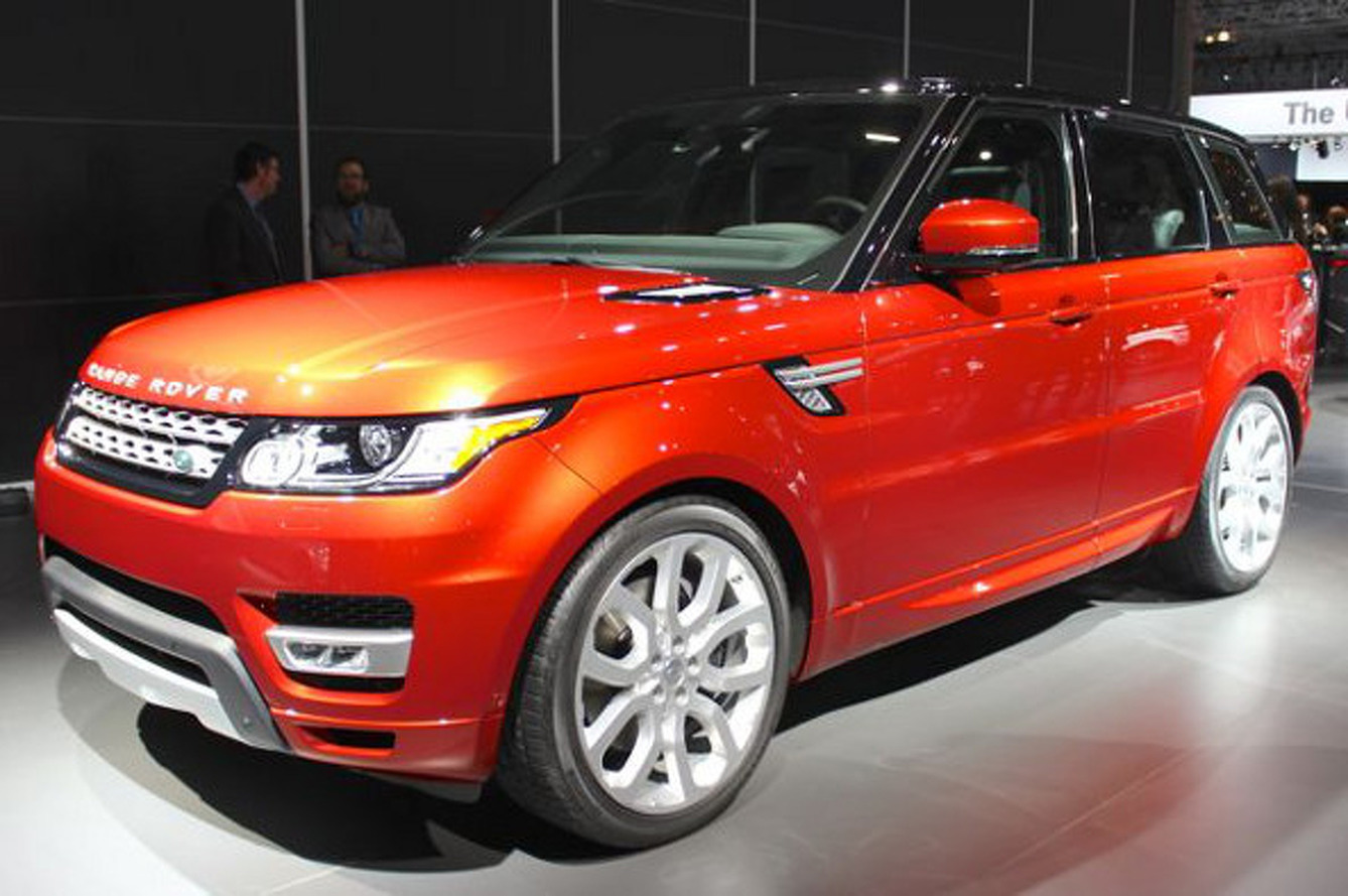 2014 Land Rover Range Rover Sport Evoques Something Familiar