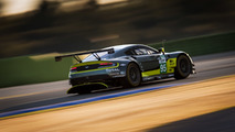 Aston Martin V8 Vantage GTE with bespoke wings