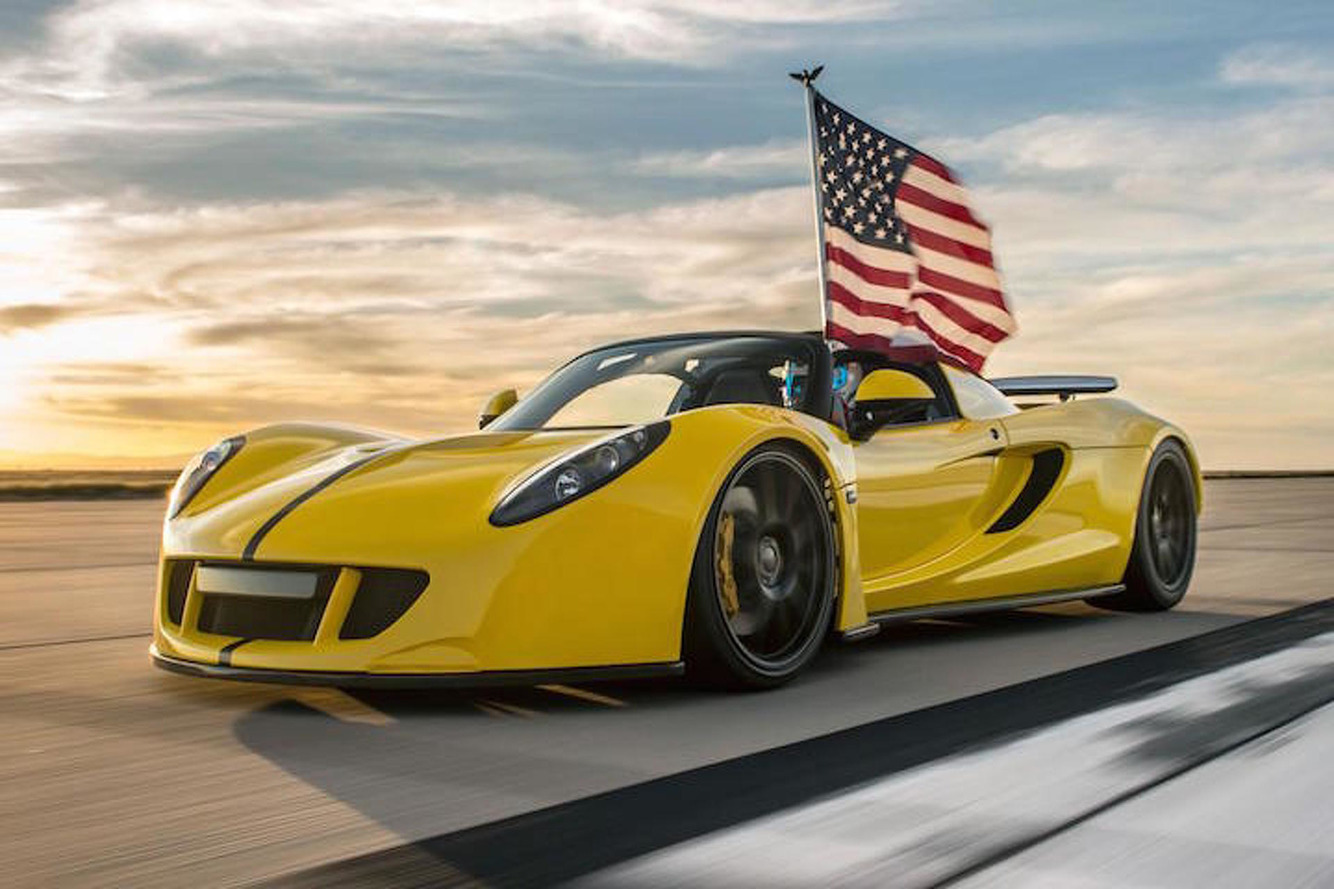 The Hennessey Venom GT is Now the World's Fastest Convertible