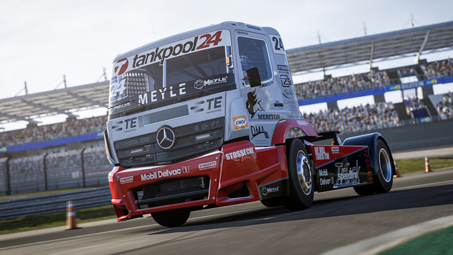 Awesome 1,000 HP Mercedes race truck now available on Forza 6