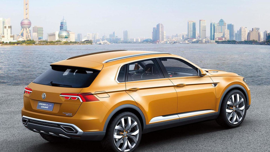 Volkswagen CrossBlue Coupe concept leaked
