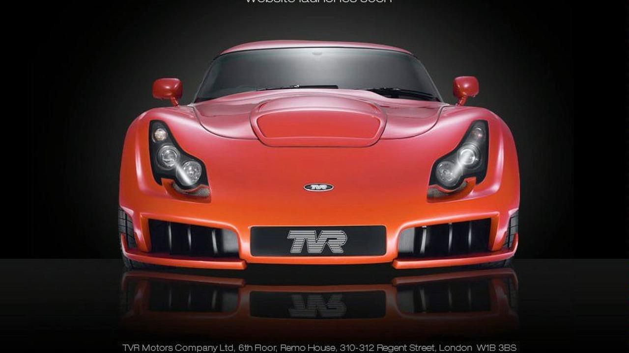 tvr.co.uk homepage screenshot, TVR Sagaris - 900 - 22.02.2010
