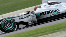 Schu could have been 'extra light' on Friday - Coulthard
