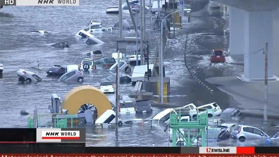 Japanese earthquake and tsunami shutter factories