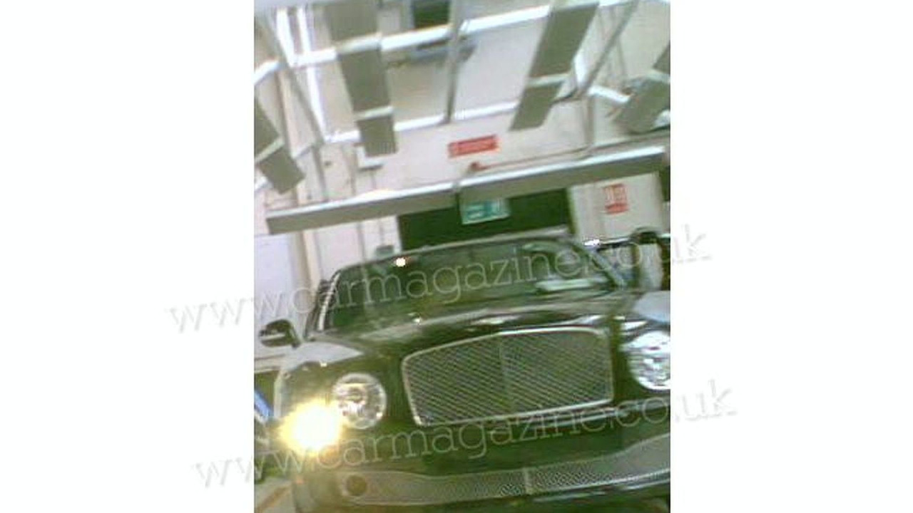 New Grand Bentley leaked factory images