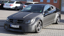 Mercedes-Benz C63 AMG Coupe Black Series first photos 08.04.2011