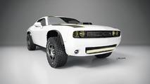 Dodge Challenger A/T Untamed Concept rendering