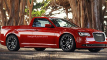 Chrysler 300 Utility Coupe rendered just for fun