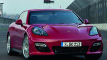 2012 Porsche Panamera GTS debuts in L.A. [video]