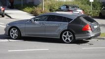 2012 Mercedes-Benz CLS Shooting Brake spied 12.10.2011