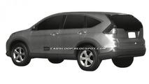 2012 Honda CR-V revealed in patent filing