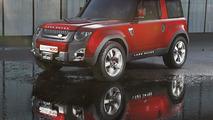 Land Rover Defender DC100 Concept