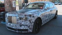 Rolls-Royce Phantom Spy Shots